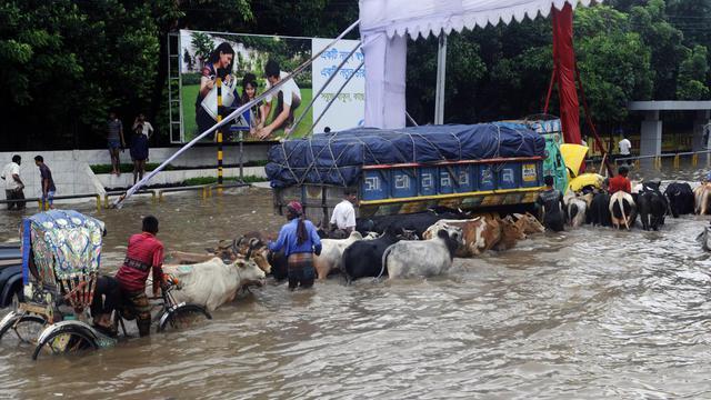 Les pays les plus vulnérables aux catastrophes naturelles sont les pays d'Asie, selon un classement publié mercredi, qui met en évidence leur état de préparation limité et leur capacité faible à réagir.[AFP]