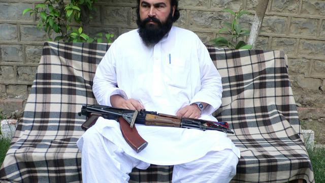 Le n°2 des talibans pakistanais Wali ur-Rehman dans la région du Waziristan, le 16 mai 2011 [Naseer Azam / AFP/Archives]