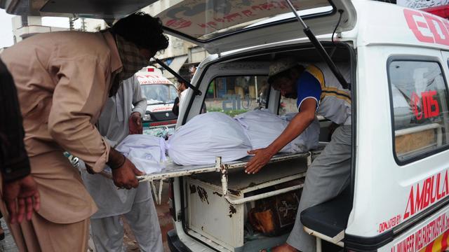 Une ambulance pakistanaise [Asif Hassan / AFP/Archives]