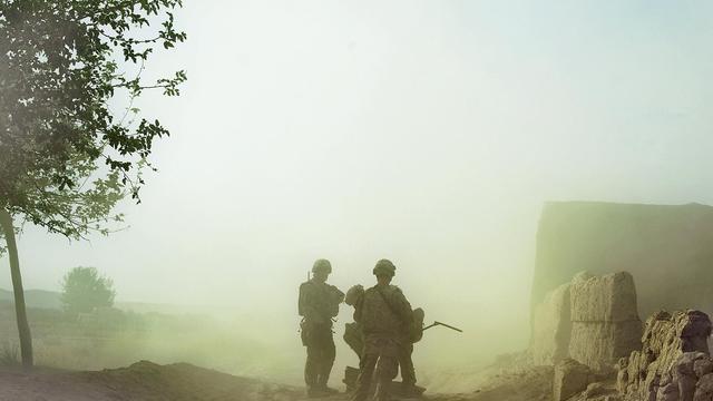 Des soldats de l'OTAn, le 23 septembre 2012 en Afghanistan. [Tony Karumba / AFP/Archives]