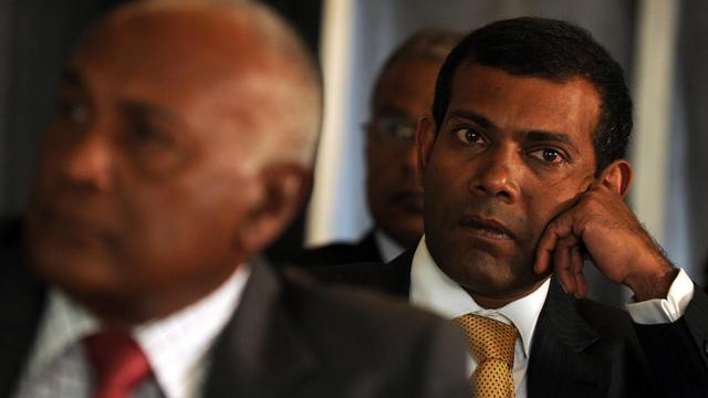 L'ancien président des Maldives, Mohammed Nasheed, le 24 mars 2012 à Colombo [Ishara S.Kodikara / AFP/Archives]