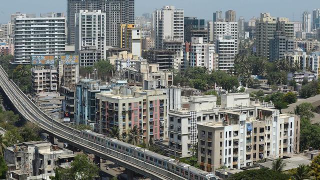 Une vue de Bombay [Indranil Mukherjee / AFP/Archives]