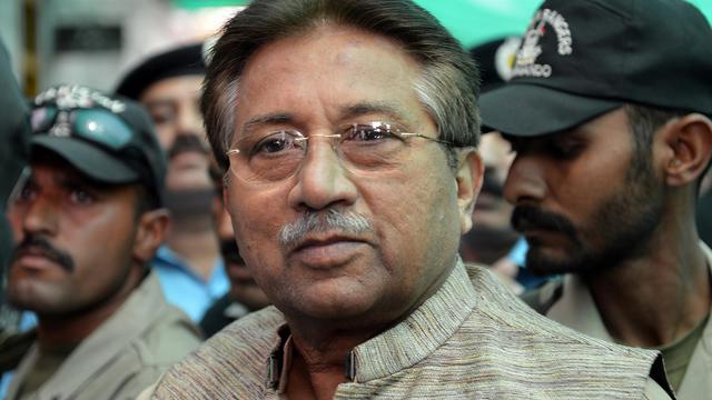 L'ancien président pakistanais, Pervez Musharraf, le 20 avril 2013 à Islamabad [Aamir Qureshi / AFP/Archives]