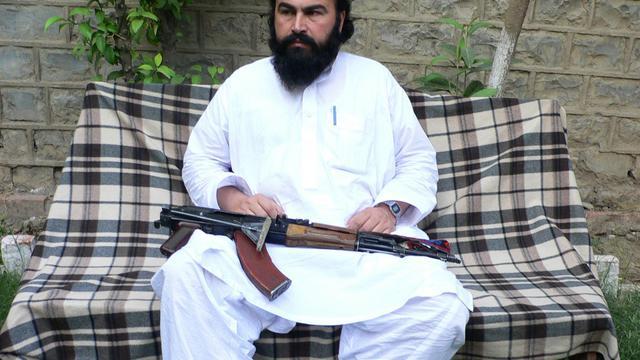 Wali ur-Rehman, un des leaders du Mouvement des talibans du Pakistan, photographié le 16 mai 2011 dans le sud Waziristan [Naseer Azam / AFP/Archives]