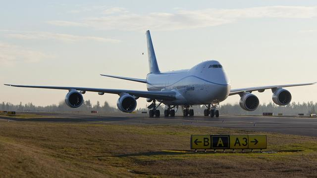 Un Boeing 747-8 [Stephen Brashear / AFP/Getty Images/Archives]