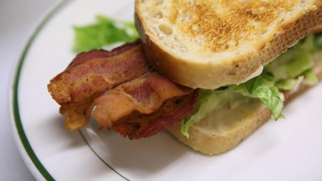 Un sandwich au bacon [Justin Sullivan / Getty Images/AFP/Archives]