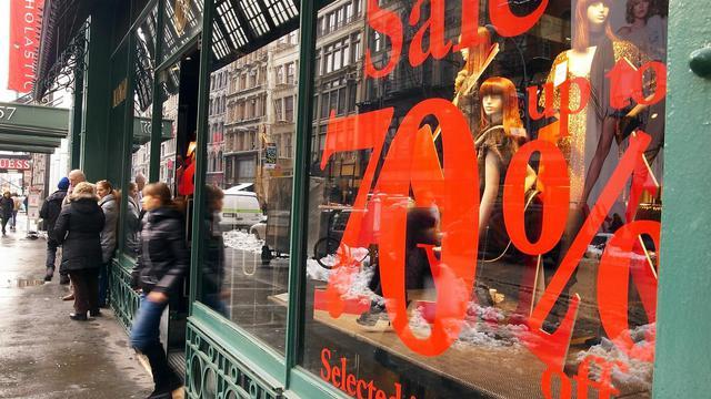 Jour de soldes à New York [Spencer Platt / Getty Images/AFP/Archives]