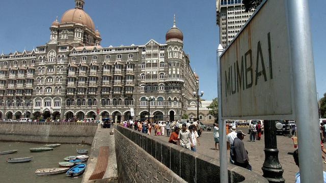 Vue générale de Bombay avec le Taj Hotel [Sebastian D'souza / AFP/Archives]