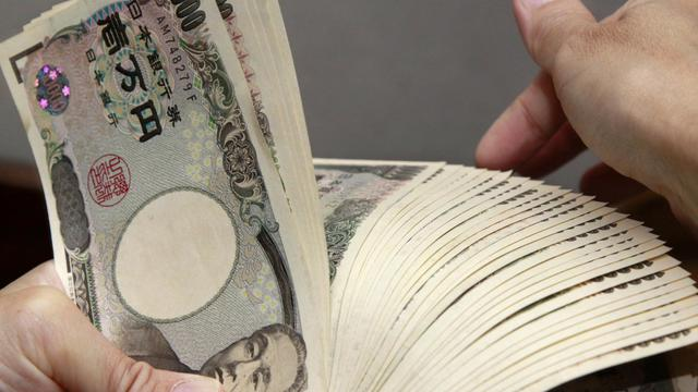 Liasse de yens, la devise japonaise, en septembre 2010 à Tokyo [Yoshikazu Tsuno / AFP/Archives]