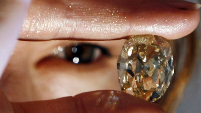 Un diamant [Sajjad Hussain / AFP/Archives]