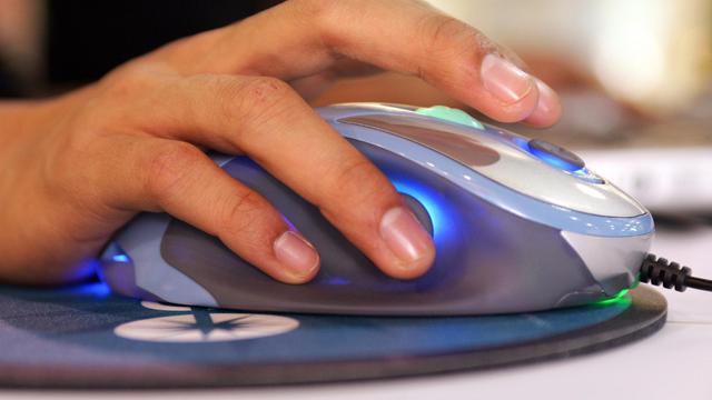 Une souris d'ordinateur [Robyn Beck / AFP/Archives]