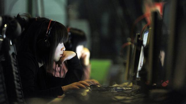Des internautes [Gou Yige / AFP/Archives]