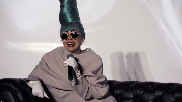 Lady Gaga à Singapour, le 7 juillet 2011 [Simin Wang / AFP/Archives]