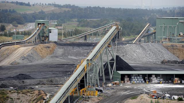 Une minde de charbon en Australie [Torsten Blackwood / AFP]