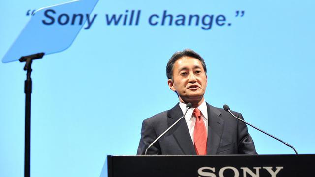 Kazuo Hirai, le PDG de Sony, le 12 avril 2012 à Tokyo [Kazuhiro Nogi / AFP/Archives]