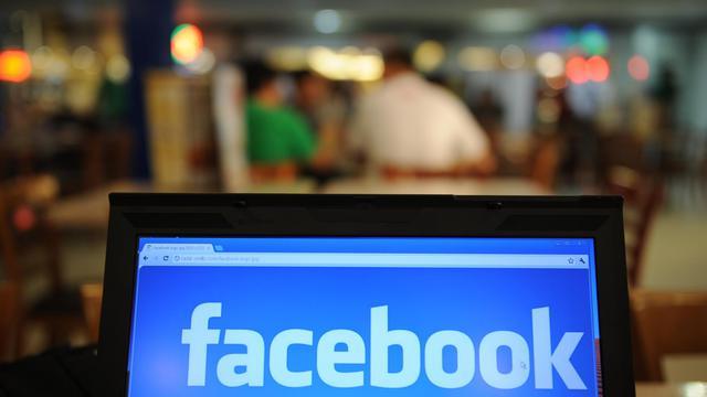 Le logo de Facebook [Ted Aljibe / AFP/Archives]
