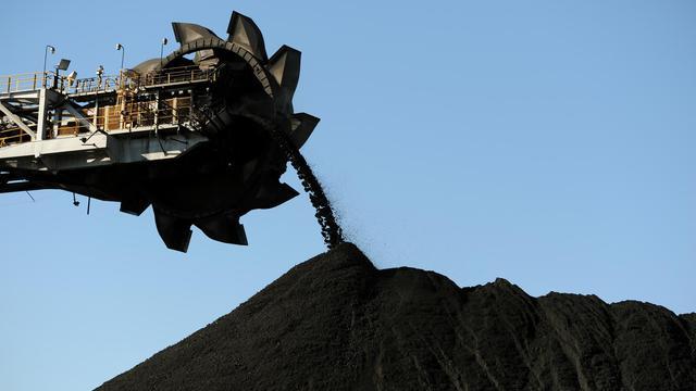 Extraction de charbon dans une mine à Newcastle en Australie, le 24 avril 2012 [Greg Wood / AFP/Archives]