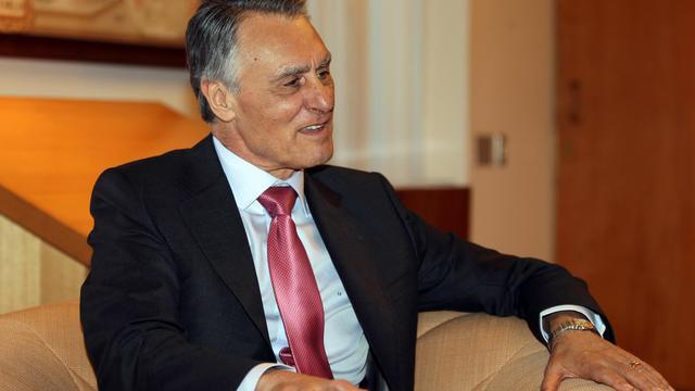 Le président portugais, Anibal Cavaco Silva,photographié le 25 mùai 2012 à Canberra, en Australie [Rob Griffith / Pool/AFP/Archives]