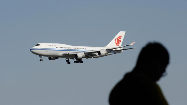 Un avion d'Air China s'apprête à atterrir à Beijing, le 4 septembre 2012 [Wang Zhao / AFP/Archives]