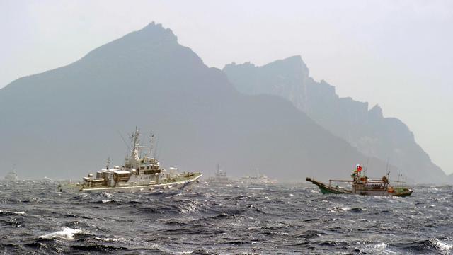 Au large des îles disputées en mer de Chine, le 25 septembre 2012 [Sam Yeh / AFP/Archives]