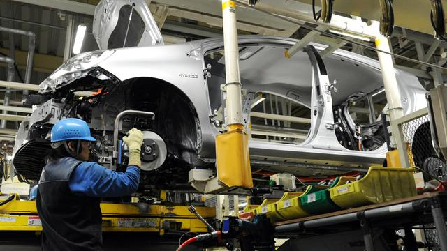 Chaîne de montage Toyota [Toshifumi Kitamura / AFP/Archives]