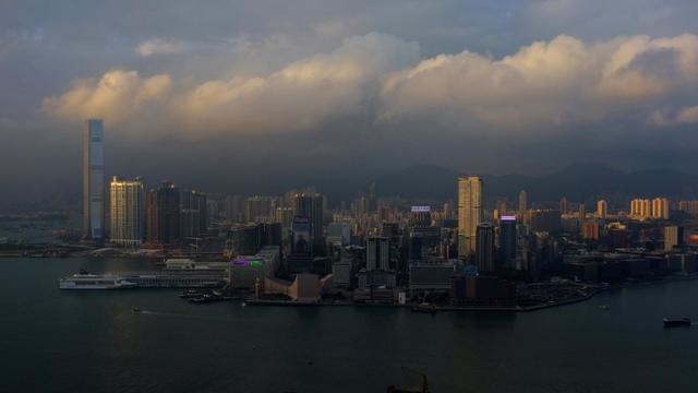 Des buildings à Hong Kong [Aaron Tam / AFP/Archives]