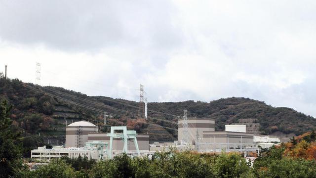 La centrale nucléaire de Tsuruga dans la préfecture de Fukui, à l'ouest du Japon, le 1 décembre 2012 [ / Jiji Press/AFP/Archives]
