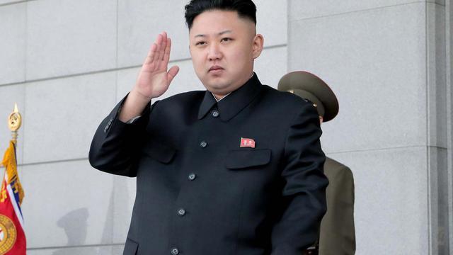 Le leader nord-coréen Kim Jong-un le 25 avril 2013 à Pyongyang [Kcna Via Kns / KCNA/AFP/Archives]