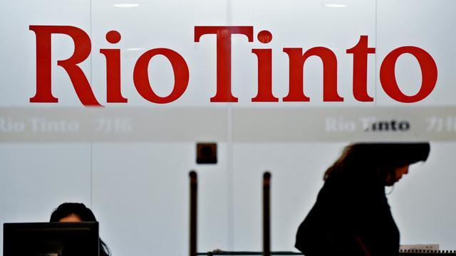Un bâtiment de Rio Tinto en Chine, le 15 mai 2013 [Philippe Lopez / AFP/Archives]