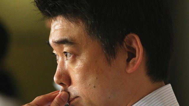 Toru Hashimoto, maire de la ville d'Osaka, le 17 mai 2013 à Osaka [ / Jiji Press/AFP]
