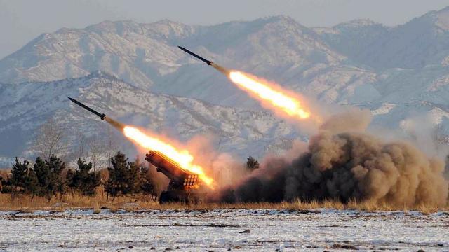 Photo non datée de missiles nord-coréens [ / Kcna/KNS/AFP/Archives]