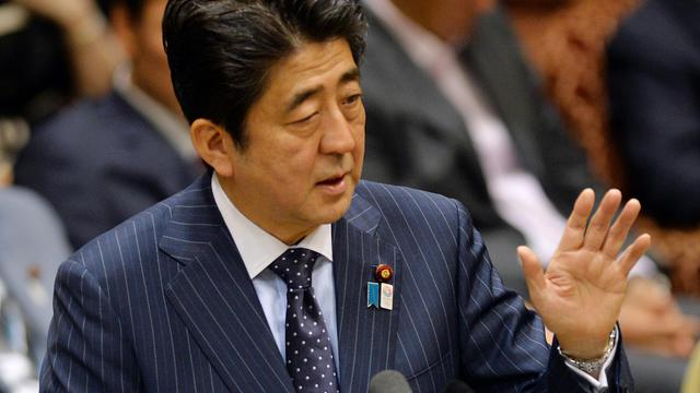 Le Premier ministre japonais Shinzo Abe, le 20 mai 2013 à Tokyo [Yoshikazu Tsuno / AFP/Archives]