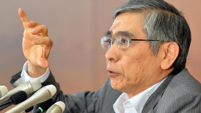 Le Gouverneur de la Banque du Japon, le 22 mai 2013 à Tokyo [Kazuhiro Nogi / AFP]