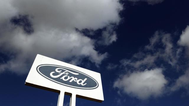 Le panneau d'une usine Ford à Melbourne, en Australie, le 23 mai 2013 [Mal Fairclough / AFP]