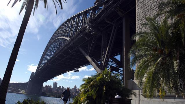Le pont de Sydney, le 30 mai 2013 [Saeed Khan / AFP]