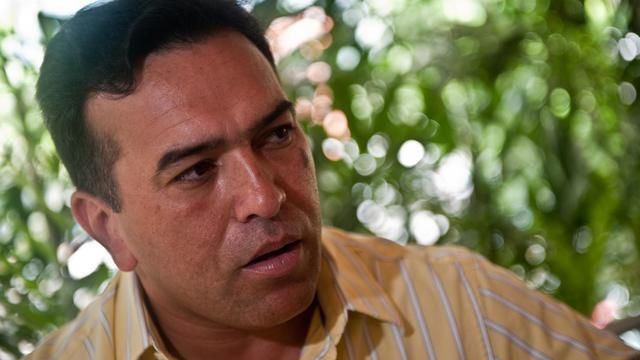 Antonio Rivero le 24 septembre 2010 à Caracas [Miguel Gutierrez / AFP/Archives]
