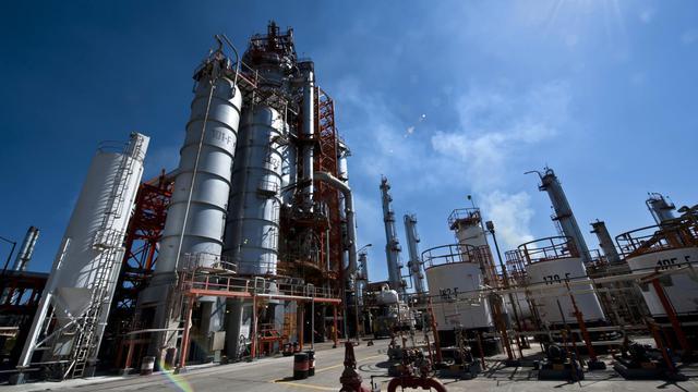 Une usine Pemex à Tula, au Mexique, en mars 2011 [Omar Torres / AFP/Archives]
