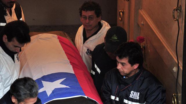 La justice chilienne a officiellement mis fin à l'enquête sur la mort de l'ex-président chilien Salvador Allende, après qu'il eut été définitivement établi qu'il s'est suicidé lors du coup d'Etat du 11 septembre 1973. [AFP]