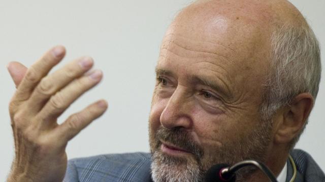 Brice Lalonde, ancien ministre de l'Environnement, à la conférence Rio+20, le 18 août 2011 [Antonio Scorza / AFP/Archives]