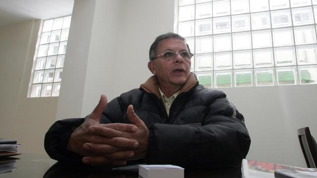 Le négociateur des Farc Rodrigo Granda, le 16 juin 2007 à Bogota [Mauricio Duenas / AFP/Archives]