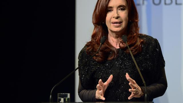 La présidente de l'Argentine Cristina Kirchner le 3 septembre 2012 à Buenos Aires [Daniel Garcia / AFP/Archives]