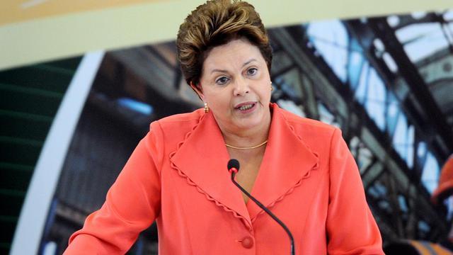 """Une femme a tenté de pénétrer dans le palais présidentiel à Brasilia, mardi, affirmant être """"le mari de Dilma"""" Rousseff, la présidente, et a dû être maîtrisée par la force, ont rapporté ce mercredi le service de sécurité présidentielle et la presse locale. [AFP]"""