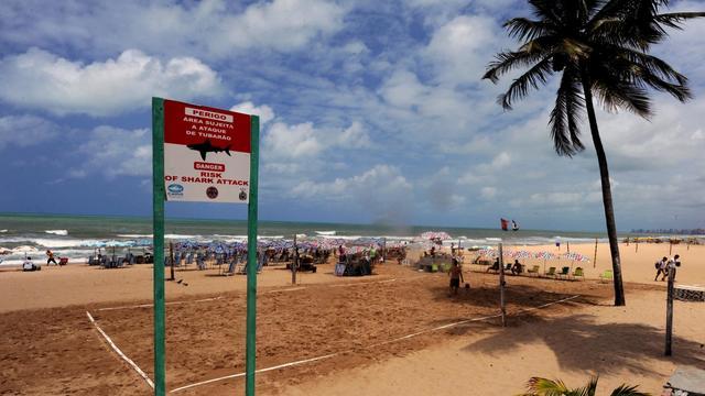 Recife, station balnéaire très touristique du nord-est du Brésil, le 11 septembre 2012 [Antonio Scorza / AFP]