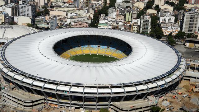 Le stade Maracana de Rio, le 10 mai 2013 [Vanderlei Almeida / AFP]