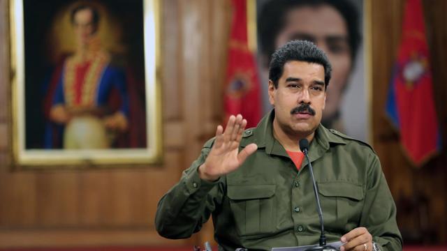 Photo transmise par la présidence vénézuélienne de Nicolas Maduro à Caracas, le 3 juin 2013 [Francisco Batista / Présidence vénézuélienne/AFP]