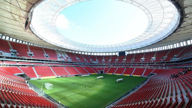 Vue générale du stade national de Brasilia, le 6 juin 2013 [Evaristo Sa / AFP/Archives]