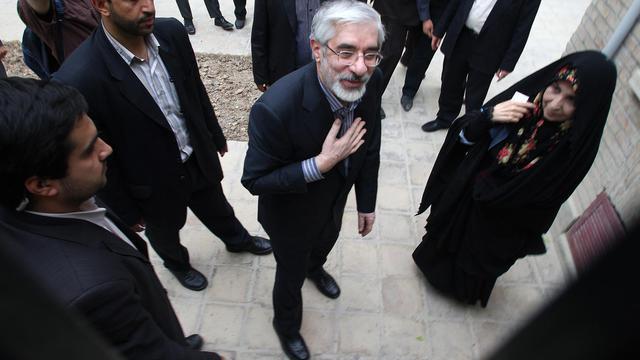L'opposant Mir Hossein Moussavi, le 15 juin 2009 à Téhéran [Atta Kenare / AFP/Archives]