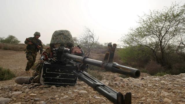 Des gardes frontières irakiens [Essam al-Sudani / AFP/Archives]