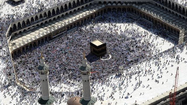 Vue aérienne de musulmans en pèlerinage à La Mecque, le 7 novembre 2011 [Fayez Nureldine / AFP/Archives]