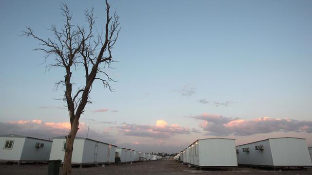 Le camp Liberty le 17 février 2012 en Irak [Ali al-Saadi / AFP/Archives]